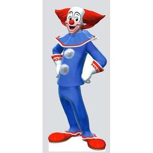 Advanced Graphics Bozo The Clown Life Size Cardboard Stand Up: Decor
