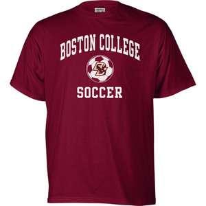 NCAA   Boston College Eagles Perennial Soccer T Shirt