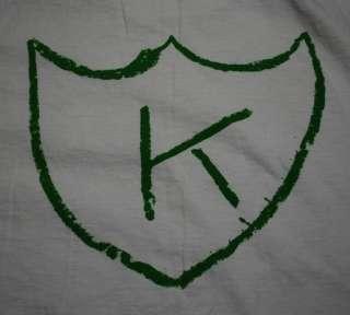 VINTAGE KURT COBAIN K RECORDS TATTOO SHIRT 1980S XL