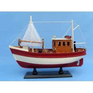 16 Model Ship Fishing Boats Replica Boat Not a Kit