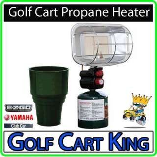 Propane Heater Cup Holder EZGO Yamaha Club Car GolfCart