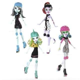PRE ORDER~Monster High Roller Maze Complete Set Frankie,Ghoulia