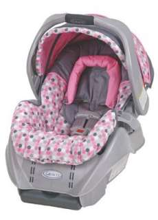 Graco Snugride Infant Baby Safety Car Seat 5 Point Harness Energy