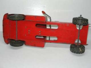 toy dump truck front cab part only 15 1 2 long truck no dump bed just
