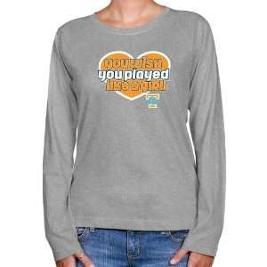 UT Vols T Shirt : Tennessee Lady Vols Ladies Ash Wish Girl