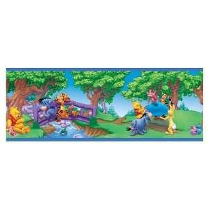 Sanitas Winnie The Pooh Wallpaper Border FB075521B: Baby